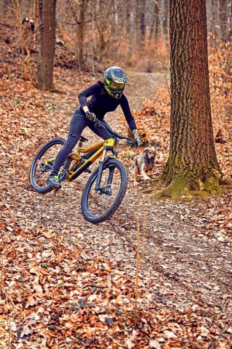 mountainbike lifestyle portrait wien
