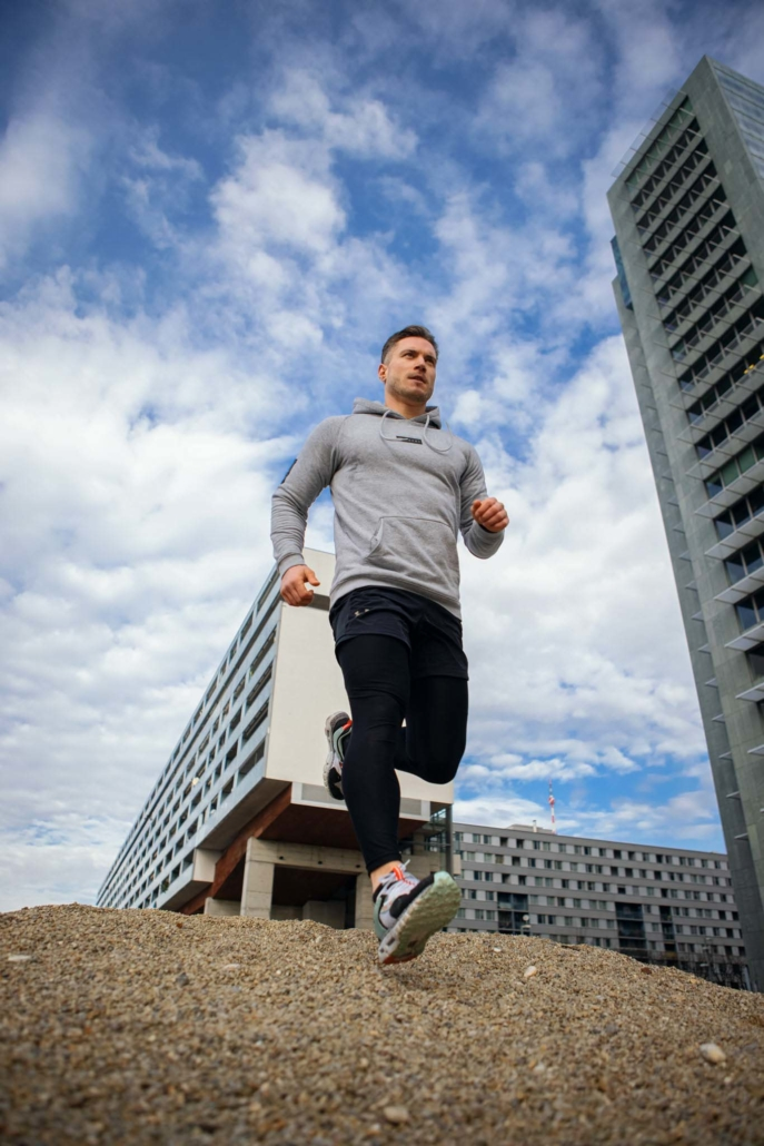 running fitness fotografie